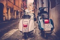 Picture Piaggio, photo, scooter, Rome, retro, photographer, Rome, moped, Jamie Frith