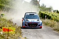Picture The front, WRC, Rally, i20, Dust, Hyundai