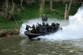 Picture vegetation, river, SBT-22, army, gun, weapon, pistol, soc-r, spec ops, team riverine, special boat, man, ...