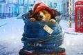 Picture city, bear, hat, smile, snow, street, england, movie, animal, coat, bag, british, film, cold, telephone, ...