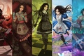 Picture mosaic, anime, alice madness returns, alice