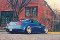 Picture the building, tree, infiniti, tree, infiniti, the fence, coupehouse, auto, g35