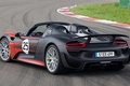 Picture Prototype, Spider, background, rear view, Spyder, 918, Porsche, lights, Prototype, Porsche