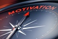 Picture red arrow, compass, motivation
