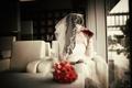 Picture bouquet, the bride, wedding