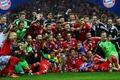 Picture David Alaba, Bastian Schweinsteiger, Javi Martinez; Arjen Robben, Manuel Neuer; Phillip Lahm, Frank Ribery; Mario ...