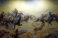 Picture painting, picture, painting, Frederic Remington, Custer's Last Stand at Woolaroc