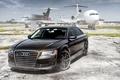 Picture sedan, Audi, audi a8, aircraft