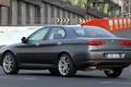 Picture Car, Track, Alfa Romeo, 166, Sedan, Back, Alfa, Romeo, Alfa Romeo 166, Alfa 166