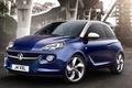 Picture background, Adam, Opel, Vauxhall, Adam, Jam, hatchback, the front, Vauxhall, Opel, blue