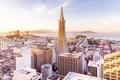 Picture landscape, tower, skyscraper, home, panorama, San Francisco, USA