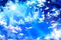 Picture the sky, the sun, clouds, nature, art, iy tujiki