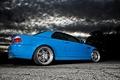 Picture BMW, clouds, blue, blue, BMW, E46