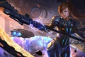 Picture staff, Heroes of Newerth, girl, Faydee, Beats From Faydee, fiction, art