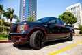 Picture Crimefighter Bat Truck, Tuned by Galpin, Ford F150