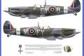Picture Spitfire Mk IXC 611 SQ Biggin, Supermarine, WW2
