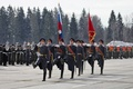 Picture flag, Russia, March, Parade, military, honor