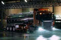 Picture R420, Scania, Highline, tank, lights, plant