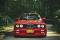 Picture red, BMW, tuning, The 3 series, red, BMW, e30
