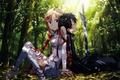 Picture game, anime, pretty, asian, cute, manga, pretty girl, sleeping, japanese, Yuuki Asuna, Sword Art Online, ...