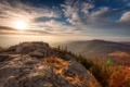 Picture Sunrise, Forest, Nationalpark Bavarian