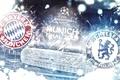 Picture Chelsea, stadium, Final 2012, League Champions, Allianz Arena, Bayern, Champions League, Finale 2012, emblems, Chelsea, ...