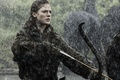 Picture Rose Leslie, Rose Leslie, Game Of Thrones, Game of Thrones, rain, girl, Ygritte, bow