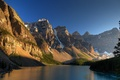 Picture lake, mountains, nature