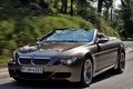 Picture speed, dynamics, BMW, 6 series, road, blur, convertible, tuning, BMW