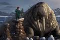 Picture fantasy, people, art, walrus, trust, Peter Stapleton