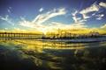 Picture San Diego, wave, bridge, California, San Diego, Pacific Ocean, the ocean, clouds, the sky, CA, ...