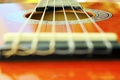 Picture macro, orange, guitar, venitomusic