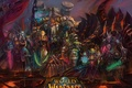 Picture horde, For the Horde by DA, Orc, Goblin, warriors, blood elf, ork, tauren, undead, race, ...