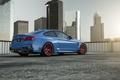 Picture BMW, Blue, Vorsteiner, Sun, Widebody, Rear, Photoshoot, GTRS4