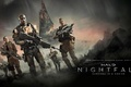 Picture stars, weapons, fiction, planet, the series, action, fighters, Halo: Nightfall, Halo: Nightfall