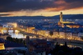 Picture the city, italy, florence, the palazzo vecchio, Palazzo Vecchio, lights, Italy, night, Florence