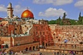 Picture Israel, the sky, Jerusalem, the wailing wall, hrpm