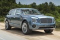 Picture jeep, Bentley.The concept, EXP 9 F, road, trees, crossover, Bentley, the front, Concept