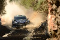 Picture wrc, ford, m-sport, trees, track, squirt, elfyn evans, fiesta, Ford, Fiesta