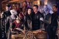 Picture the series, actors, ship, are, the room, Far across the Universe, farscape