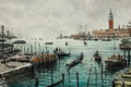 Picture picture, Maximilian DAmico, home, boats, the urban landscape, tower, watercolor, Venice