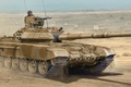 Picture war, art, tank, paining, T-90SA Main Tank
