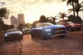 Picture palm trees, race, Game, Ubisoft, Mustang, Mini, Cooper, BMW, The Crew, Ford