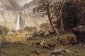 Picture Albert Bierstadt, picture, the Yosemite Fall, Cho-looke, painting, 1864, painting
