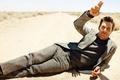 Picture Matthew McConaughey, male, road, Matthew McConaughey, actor, costume, sand