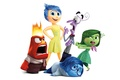 Picture characters, Fear, Joy, cartoon, white background, emotions, Pixar, Disgust, Puzzle, Anger, Disney, Sadness, Inside Out