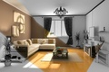 Picture room, sofa, interior, flowers, apartment, widescreen, HD wallpapers, Wallpaper, TV, full screen, background, space, table, ...