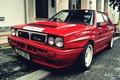 Picture turbo, red, Lancia Delta HF Integral