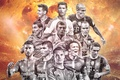 Picture David Luiz, Messi, Ronaldo, Mary, Sergio Ramos, Iniesta, New, Kross, Robben, Lahm, team of the ...