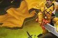 Picture fan art, warcraft, world of warcraft, legion, sword, banner, armor, art, blizzard